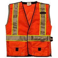 LED Safety Vest Orange