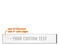Custom Add Own Text Stencil