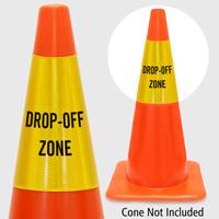 Drop Off Zone Cone Collar