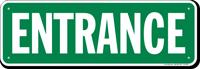 Entrance Gate Sign