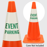 Event Parking Cone Collar