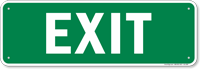 Exit Gate Sign