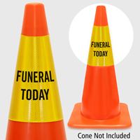 Funeral Today Cone Collar