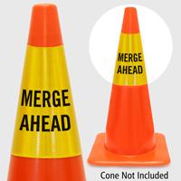 Merge Ahead Cone Collar