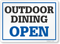 Outdoor Dining: Open