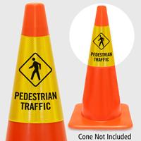 Pedestrian Traffic Cone Collar
