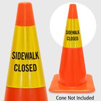 Sidewalk Closed Cone Collar