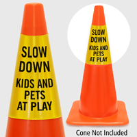 Slow Down Kids And Pets At Play Cone Collar