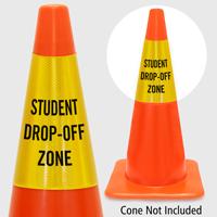 Student Drop Off Zone Cone Collar