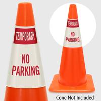 Temporary No Parking Cone Collar