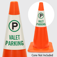 Valet Parking Cone Collar