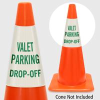 Valet Parking Drop Off Cone Collar