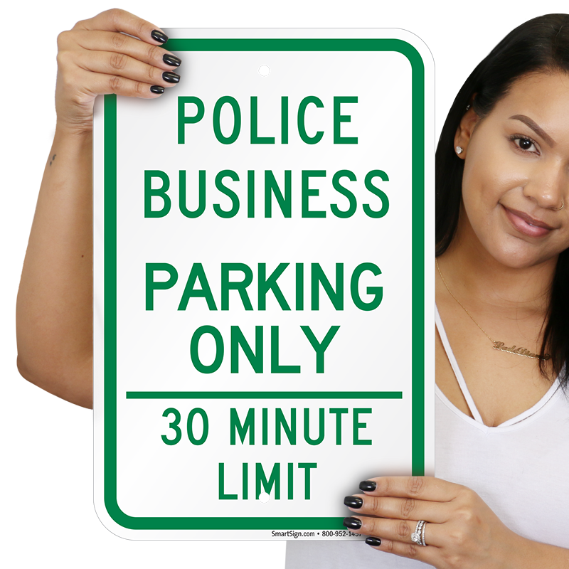 CUSTOMIZED * BUSINESS NAME * PARKING ONLY - 12 X 18 ...