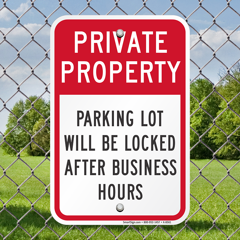 Prevent Vehicle Traffic On Private Property