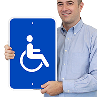 Accessible Handicap Symbol Signs (With Graphic)