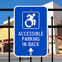 Accessible Parking New ADA Signs (With Graphic)
