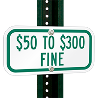 $50 to $300 Fine Signs