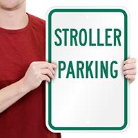 STROLLER PARKING Signs