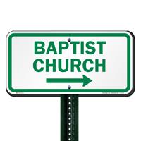 Baptist Church Signs