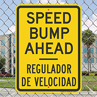 Speed Bump Ahead, Regulador De Velocidad Sign