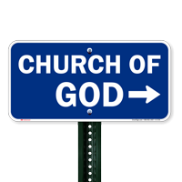 Church Of God Signs