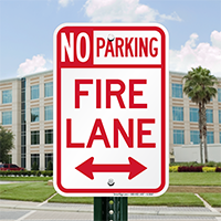 Colorado Fire Lane No Parking Signs