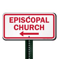 Episcopal Church Signs