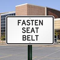 FASTEN SEAT BELT Signs