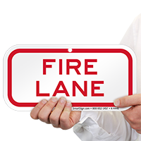 FIRE LANE SUPPLEMENTARY Signs