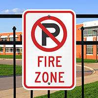 Fire Zone Sign