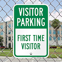 Visitor Parking Signs