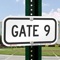 GATE 9 Sign