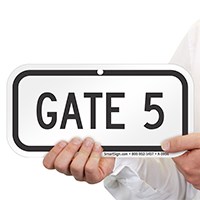 GATE 5 Signs