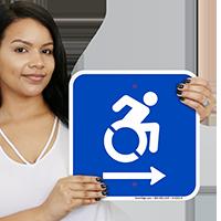 Access Symbol Signs