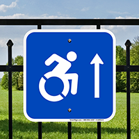 Handicap Symbol Signs