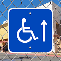 Handicap Symbol Signs