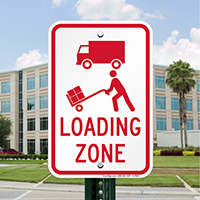 Loading Zone Signs (With Graphic)