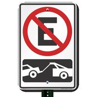 No Estacionar Parking Signs Symbol
