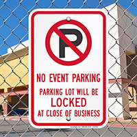 Restricted Parking Signs