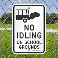 State Idle Signs for Indiana