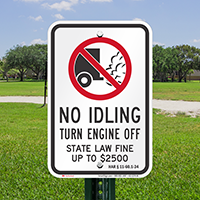 State Idle Signs for Hawaii