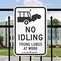 State Idle Signs for School Zones, Oregon