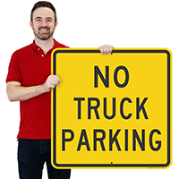 NO TRUCK PARKING Signs
