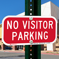 No Visitor Parking, Supplemental Parking Signs