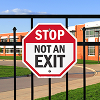 Not an Exit Stop Sign
