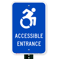 Parking Only Van Accessible Modified Accessible Signs