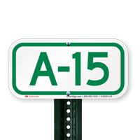 Parking Space Signs A-15