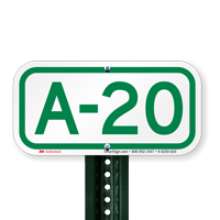 Parking Space Signs A-20