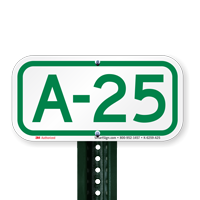 Parking Space Signs A-25