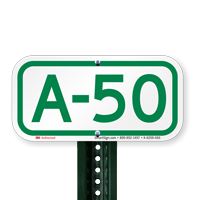Parking Space Signs A-50